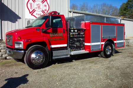 Biscoe, AR, Commercial Pumper, Left Side