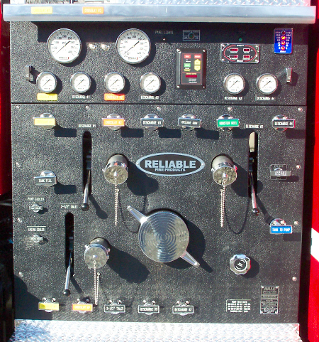 Biscoe, AR, Commercial Pumper, Control Panel