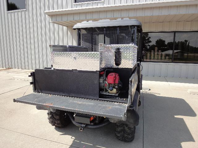 St. Francis County, AR, ATV Skid Unit, Right Rear Corner, Tailgate Down
