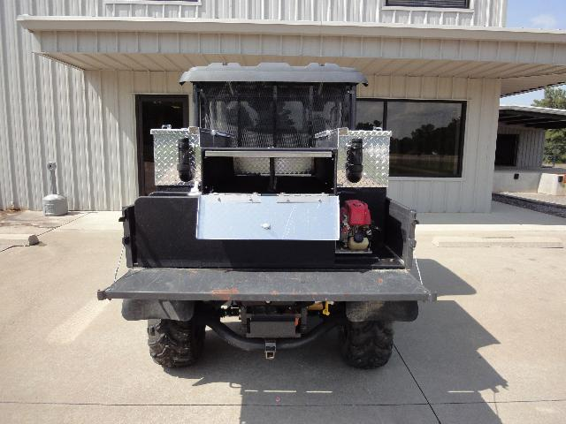 St. Francis County, AR, ATV Skid Unit, Rear View, Tailgate Down, Compartment Open