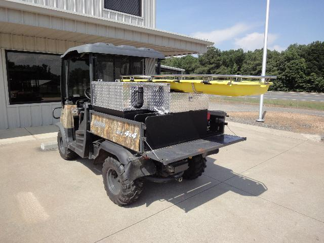 St. Francis County, AR, ATV Skid Unit, Left Rear Corner, Tailgate Down