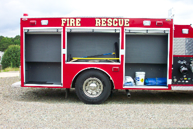 North Pulaski, AR, Custom Pumper, Right Side, Doors Open