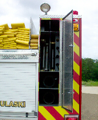 North Pulaski, AR, Custom Pumper, Suction Hose/Ladder Compartment