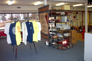 David's Fire Equipment Showroom, Fire Tees and Dicount Rack