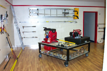 David's Fire Equipment Showroom, Pumps and Holigans
