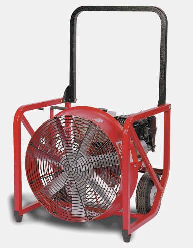 SuperVac 20 Inch Positive Pressure Ventilation Fan with Honda Engine