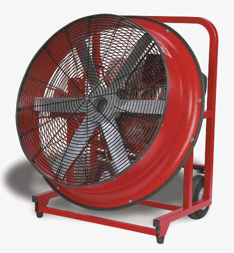 SuperVac 30 Inch Positive Pressure Ventilation Fan with Honda Engine